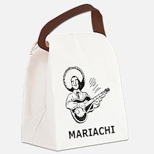 Vintage Mariachi Canvas Lunch Bag