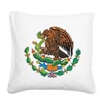 Mexico Coat Of Arms Square Canvas Pillow
