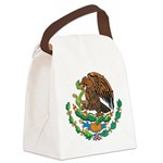 Mexico Coat Of Arms Canvas Lunch Bag