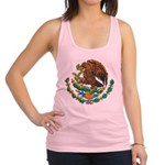 Mexico Coat Of Arms Racerback Tank Top