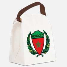 Stylized Morocco Canvas Lunch Bag