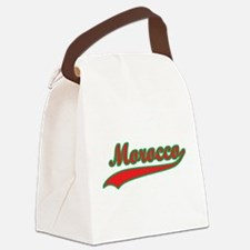 Retro Morocco Canvas Lunch Bag