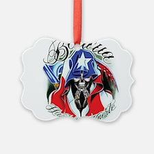 Boricua Design Ornament