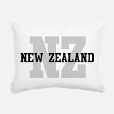 NZ New Zealand Rectangular Canvas Pillow