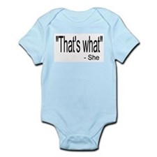 Bucks Whatevers Infant Bodysuit