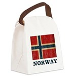 Vintage Norway Canvas Lunch Bag