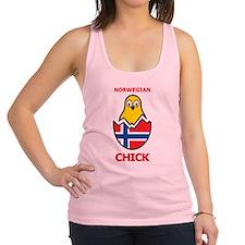 Norwegian Chick Racerback Tank Top