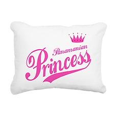 Panamanian Princess Rectangular Canvas Pillow