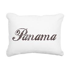Vintage Panama Rectangular Canvas Pillow