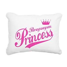 Paraguayan Princess Rectangular Canvas Pillow