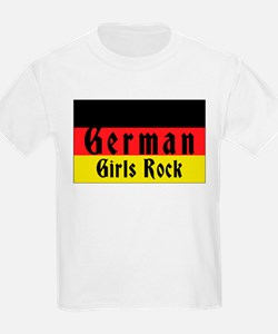 German Girls Rock Kids T-Shirt
