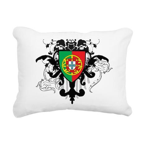 Stylish Portugal Rectangular Canvas Pillow