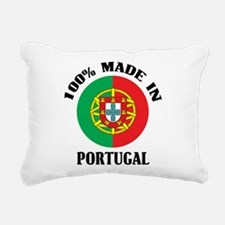 Made In Portugal Rectangular Canvas Pillow