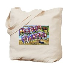North Dakota Greetings Tote Bag