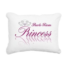 Puerto Rican Princess Rectangular Canvas Pillow
