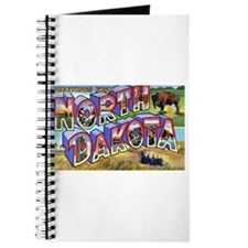 North Dakota Greetings Journal
