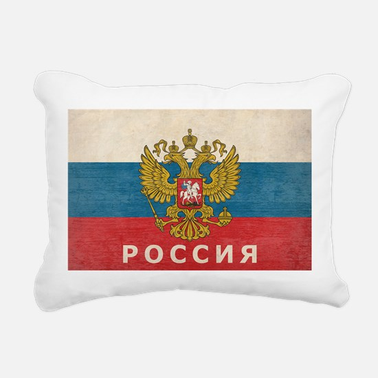 Vintage Russia Rectangular Canvas Pillow
