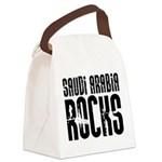 Saudi Arabia Rocks Canvas Lunch Bag