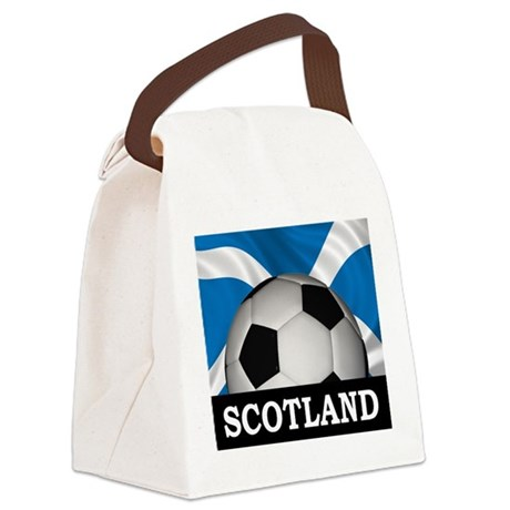 Football Scotland Canvas Lunch Bag