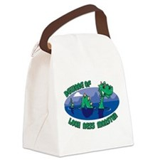 Beware Of Loch Ness Monster Canvas Lunch Bag