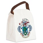 Seychelles Coat Of Arms Canvas Lunch Bag