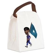 3D Somalia Canvas Lunch Bag