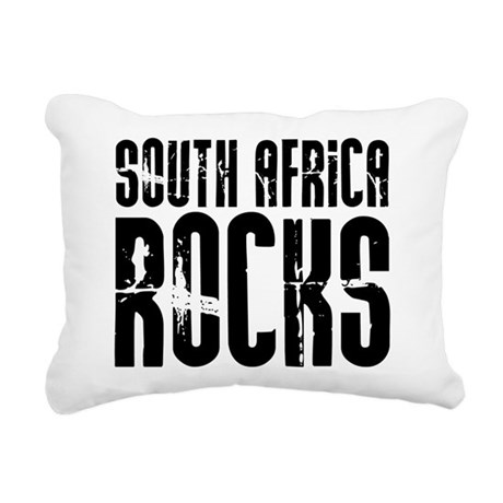 South Africa Rocks Rectangular Canvas Pillow