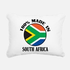 Made In South Africa Rectangular Canvas Pillow