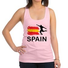 Spain Football Racerback Tank Top