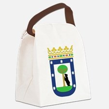 Madrid Coat Of Arms Canvas Lunch Bag