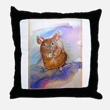 Mouse! Animal art! Throw Pillow