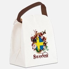 Butterfly Sweden Canvas Lunch Bag