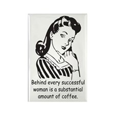 Vintage Housewife Rectangle Magnet