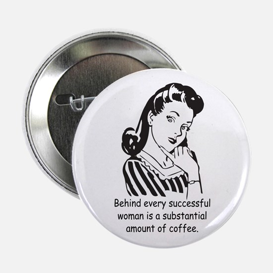 """Vintage Housewife 2.25"""" Button"""