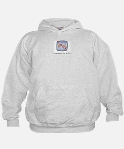 Somewhere, Pigs Do Fly Hoodie