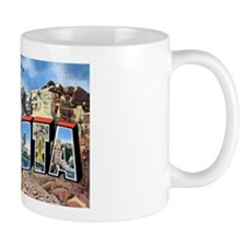 South Dakota Greetings Small Mug