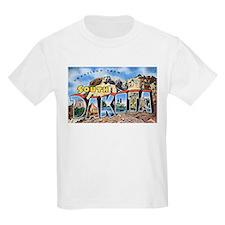 South Dakota Greetings Kids T-Shirt