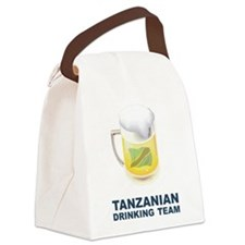 Tanzanian Drinking Team Canvas Lunch Bag