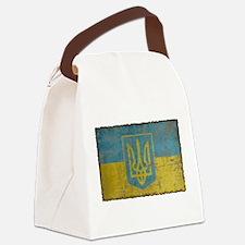 Vintage Ukraine Canvas Lunch Bag
