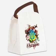 Butterfly Ukraine Canvas Lunch Bag