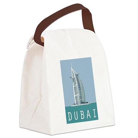 Dubai Burj Al Arab Canvas Lunch Bag