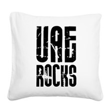 UAE Rocks Square Canvas Pillow