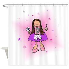Large D-Woman Shower Curtain