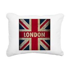 Vintage Union Jack Rectangular Canvas Pillow