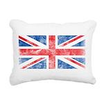 Vintage United Kingdom Rectangular Canvas Pillow