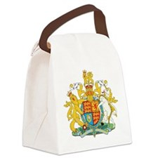 United Kingdom Coat Of Arms Canvas Lunch Bag