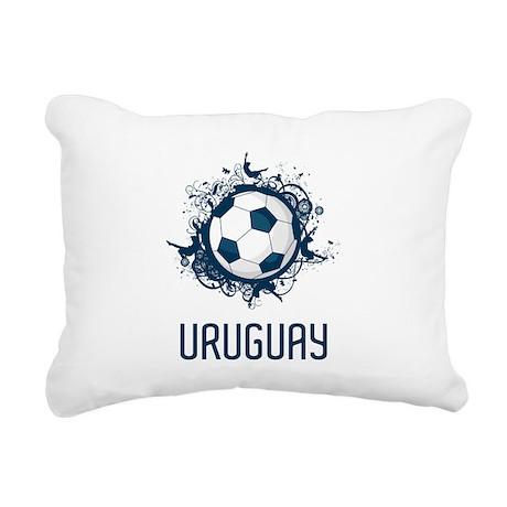 Uruguay Football Rectangular Canvas Pillow