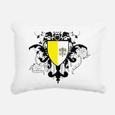 Stylish Vatican City Rectangular Canvas Pillow