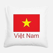 Vietnam Square Canvas Pillow