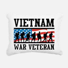 Vietnam War Veteran Rectangular Canvas Pillow